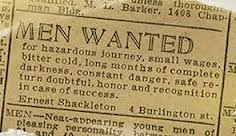 visit antarctica with Shackleton
