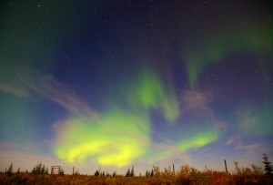 Northern Lights at Nanuk Lodge 2013