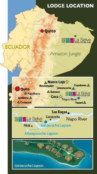 Map of La Selva