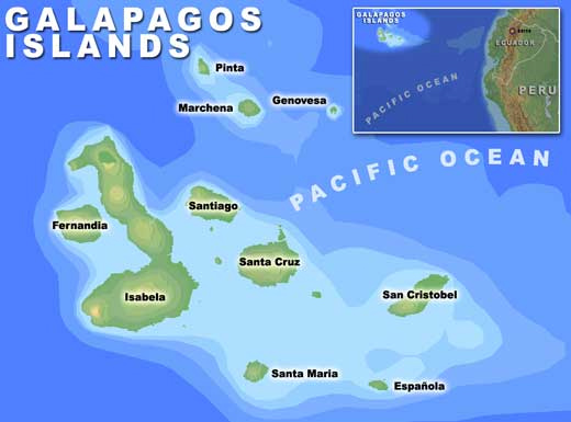 Galapagos Islands Travel By Land