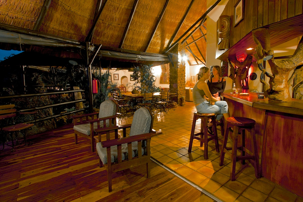 Web15 - Imvelo Safari Lodges - Gorges Lodge - The bar area is a great place to sip a G and T as the sun goes down