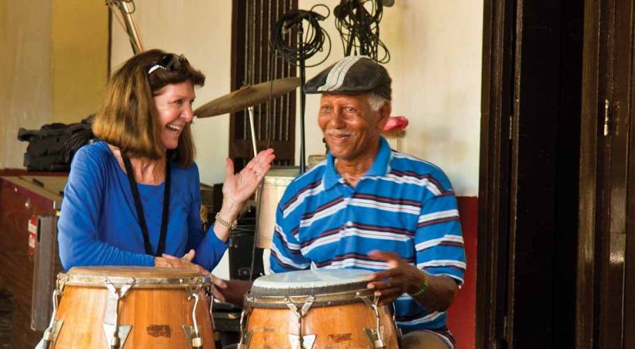 Learning Drums in Trinidad