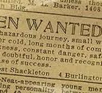 visit antarctica with Shackleton