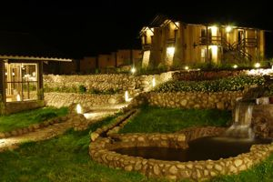 Inkallpa Sacred Valley view at night Peru tours