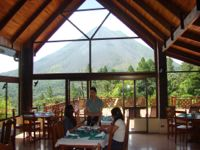 Costa Rica Arenal dining room